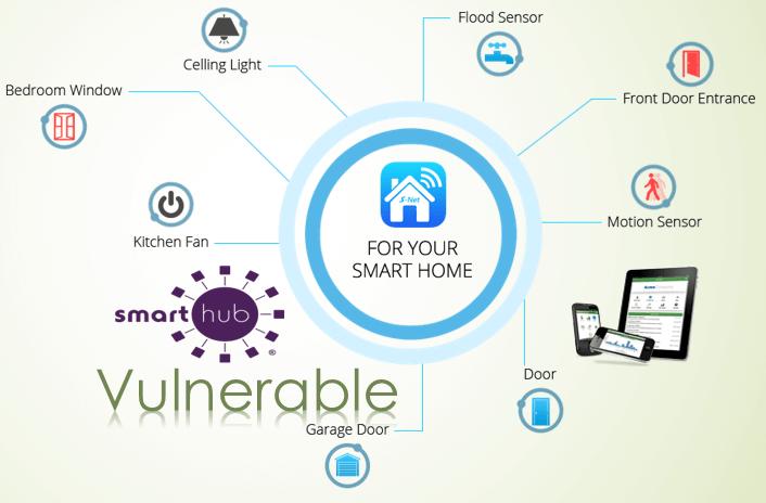 Smart Hub Vulnerable