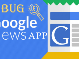 Google News App Bug
