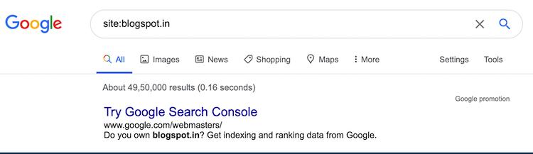 Google Blogspot users