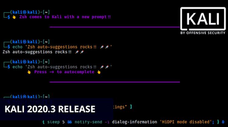 Kali-linux-2020.3-Release