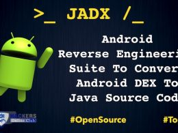 JADX Android Reverse Engineering